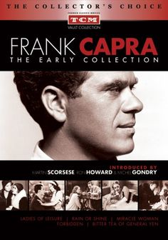 Frank Capra: The Early Collection DVD