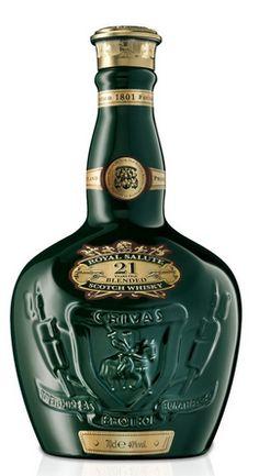 Chivas Regal 21 year Royal Salute Green | Online Kopen & Bestellen | Whisky, Gin, Vodka, Rum, Gin, Absinth