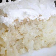 Coconut Cream Pie Cake Recipe | Just A Pinch Recipes