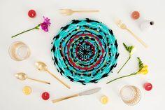 11 DIY Weaving Projects That Aren't Wall Hangings via Brit + Co Weaving Projects, Craft Projects, Circular Weaving, Diy Wedding Gifts, Woven Wall Hanging, Weaving Techniques, Shibori, Crochet, Easy Diy