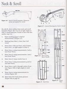 Bass making book by Peter Chandler, for building an upright string double bass