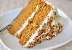 """The BEST carrot cake recipe ever!"" He loves carrot cake, will have to try it. Cupcakes, Cupcake Cakes, Whipped Cream Cheese Frosting, Cake With Cream Cheese, Just Desserts, Delicious Desserts, Yummy Food, Cake Recipes, Dessert Recipes"