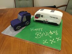 Land Rover and Bailey Cartegena in Cake and Icing by my daughter for me birthday
