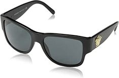 online shopping for Versace sunglasses Acetate Black - Gold Black from top store. See new offer for Versace sunglasses Acetate Black - Gold Black Sun With Sunglasses, Gold Sunglasses, Sunglasses Women, Versace Glasses Frames, Versace Sunglasses, Prada, Black Square, Unisex, The Ordinary