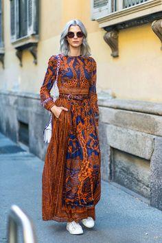 Ciao Bella: Οι ωραιότερες street style εμφανίσεις στο Μιλάνο | μοδα , street style | ELLE