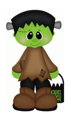 Boy in Franky Costume #68546 By Stinkin Cute Paper Piecings