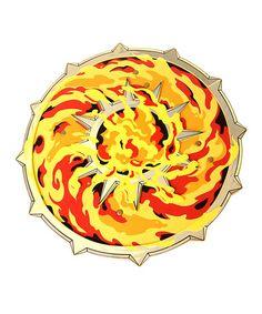 This Flame Warrior Foam Shield is perfect! #zulilyfinds