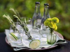 Rezept: Gurke-Rosmarin Gin Tonic