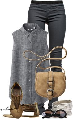 """""""Linen and Leggins"""" by cynthia335 on Polyvore"""