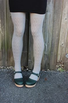 High wood clog in forest green Lotta From Stockholm
