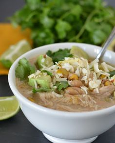 Slow Cooker White Chicken Chili Recipe on Yummly