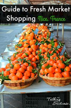 During your travels in Nice, France you should visit the markets. Two of the most popular markets are Cours Saleya Flower Market & Liberation Market Nice.