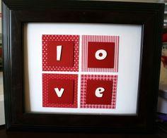 Cute LOVE frame