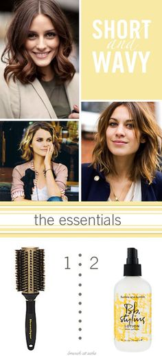 Short, wavy hair - The Beauty Thesis