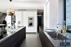 Refined Features of the Interiors and Exteriors of Villa J in Sweden - Home Design House Design, House, Traditional Decor, Interior, Kitchen Family Rooms, Modern Kitchen, Contemporary Kitchen, Home Kitchens, Kitchen Design