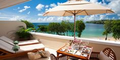 A view from what will be our room on our honeymoon!!