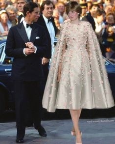 **I have looked at so many pictures of Princess Diana. I have also seen a few of her gowns in person. This Ralph & Russo coat dress is exquisite. Blew me away...