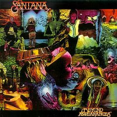Front Cover Carlos Santana: Beyond Appearances. Illustration and Graphic Design:  Marty Gessler
