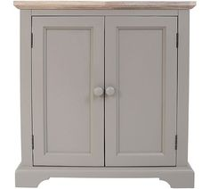 Buy Fairview Corner 2 Door Wooden Sideboard - Grey at Argos.co.uk - Your Online Shop for Sideboards and chest of drawers, Coffee tables, sideboards and display units, Home and garden.