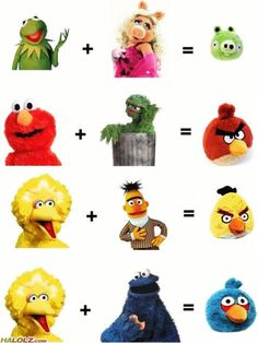 The Muppets + Angry Birds = Funny