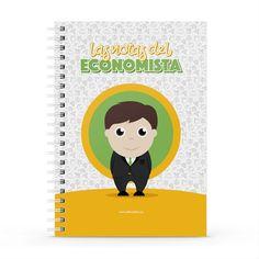 Cuaderno XL - Las notas del economista, encuentra este producto en nuestra tienda online y personalízalo con un nombre. Notebook, Cover, Engineer, Notebooks, Report Cards, Store, Cover Pages, The Notebook, Exercise Book