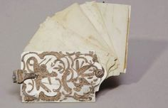 Dance Card, 18th century. Dance cards originated in the 18th century, but their use first became widespread in 19th century Vienna and later beyond in Europe and the US. At first it was a fan with the name of a partner inscribed on the back.