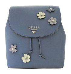 Guess Worthy Backpack Floral Denim / Multi Flowers