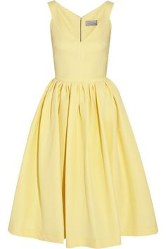 Yummy Yellow!  what an ultimate summer dress for almost any occasion  via @Annette Howard Howard Nokes-A-PORTER.COM