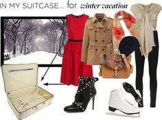 """""""A must in the suitcase for a perfect winter vacation"""" by zaheeraa ❤ liked on Polyvore"""
