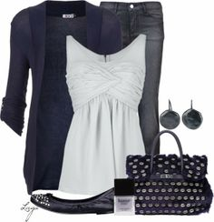Fashion Is Your Inspiration: Casual Outfits   Navy & White