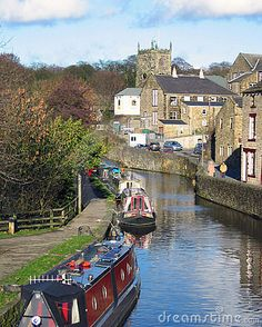 my husband's dream vacation is to rent a canal boat (or long boat) and travel the canals of England. That does NOT sound fun to me (unless we had a driver!)  Yorkshire, UK.