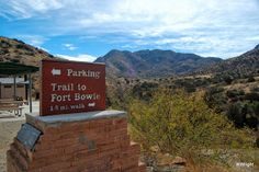 Fort Bowie National Historic Site - Arizona. $595~$695 Week ~ Stay at Hummingbird Ranch in Southeastern Arizona.  3 Ghost Towns, 2 National Parks and tons of local Apache history to discover of Cochise & Geronimo. http://vacationhomerentals.com/68121  520-265-3079