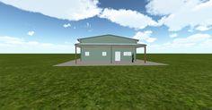 Cool 3D #marketing http://ift.tt/2xSSsp7 #barn #workshop #greenhouse #garage #roofing #DIY