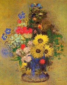 Vase of Flowers Odilon Redon - Date unknown