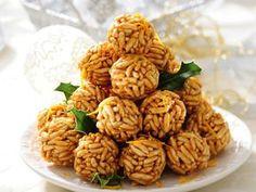 Przepis Ani Starmach: czekoladowe szyszki z ryżu Party Snacks, Healthy Snacks, Sweet Tooth, Almond, Deserts, Food And Drink, Easy Meals, Sweets, Baking
