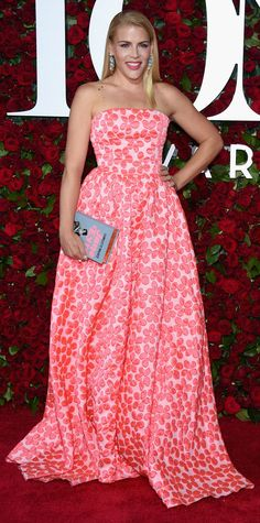 See Photos from the 2016 Tony Awards Red Carpet! - Busy Phillips from InStyle.com