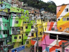 Praça Cantão, Communidade Da Santa Marta, Rio De Janeiro, Brazil