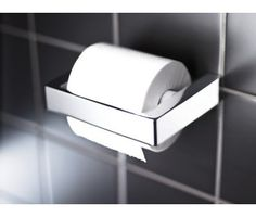 WC-paperiteline GBG G1, kromi Toilet Paper, New Homes, Bathroom, Interiors, Ideas, Washroom, Full Bath, Decoration Home, Bath