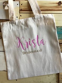 Personalized Wedding tote bag - Bridal handbags (*Amazon Partner-Link)