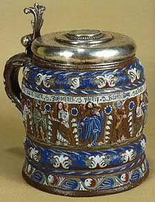 """Kreussen """"Apostle"""" Stein Ca. 1680."""