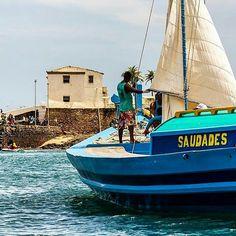 Saveiro Saudades no Porto da Barra- Salvador . Foto de Carlinhos Luz