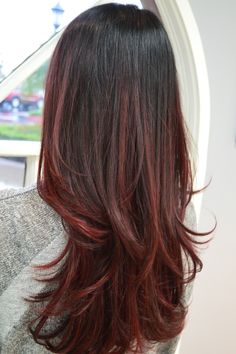 Beautiful #Somebre by Jessica Santavanond #RadiantColor #Redken #Matrix #HairNerd #ColorObsessed #HairPhasesSalon #RanchoCucamonga #Ombre #BalayageOmbre