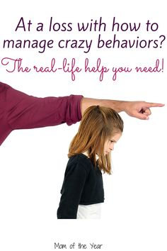 Trying to manage crazy kid behaviors and ready to pull out your hair? You're not alone, I promise! Get help here!