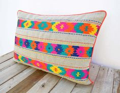 Kilim collection presents 2 designs, inspired by the classic KILIM patterns. Epitomising artistic versatility the cushions are made of 100% linen