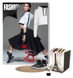 """""""#Activewear"""" by fl4u ❤ liked on Polyvore featuring Topshop, FOSSIL and NIKE"""