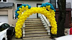 Jace's Agent Oso Balloon Arch @decoballoons (IG) smaller arches available . 475$ with flat delivery fee. Based in NJ