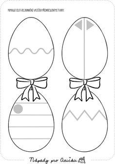 Pracovní listy   Nápady pro Aničku.cz Holidays And Events, Happy Easter, Diy And Crafts, Homeschool, Jar, Kids Rugs, Inspiration, Fine Motor, Easter