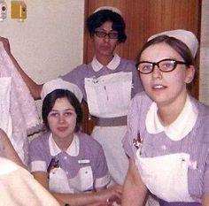 Student Nurses, Hillingdon Hospital, 1970s.