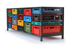 Krattenkast / Crate Cupboard / Mark van der Gronden / Netherlands