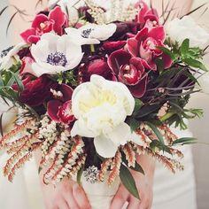 Bridal bouquet . Flower Factory. Photo by Butter Studios